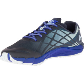 Merrell M's Bare Access Flex Shoes Blue Sport